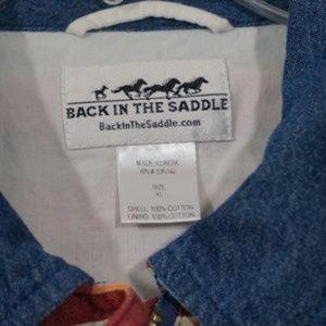 Back In The Saddle Jackets & Coats - Back In The Saddle Striped Jacket XL
